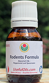 The Rodents Formula: anti mice, rats, rodents, essential oils for the home, buildings and garden.