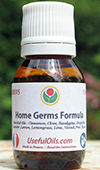 The Home Germs Formula: a natural blend of essential oils to purify and sanitize your home, car, against dust mites, acarids, germs and odors.